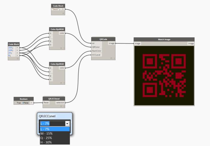 QrCode workflow